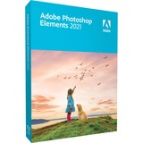 Adobe Photoshop Elements 2021, Software Alemán, 1 licencia(s)