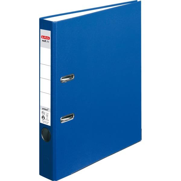 Carpeta de cart/ón Herlitz 10841658 Azul, A4