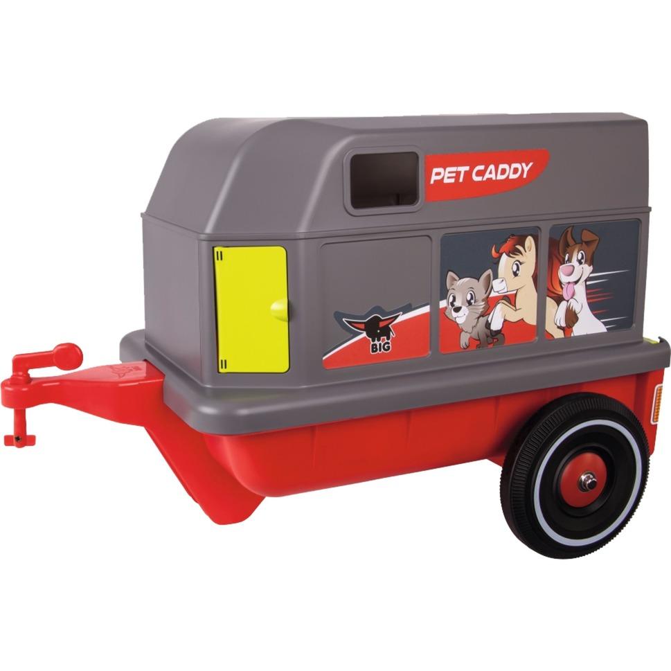 800056261 Remolque para coche de juguete accesorio para juguete de montarse, Automóvil de juguete