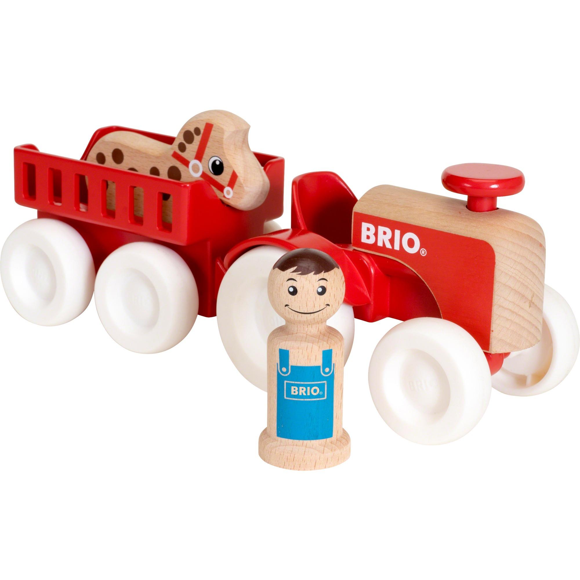30265 Tractor y remolque con caballo, Automóvil de construcción