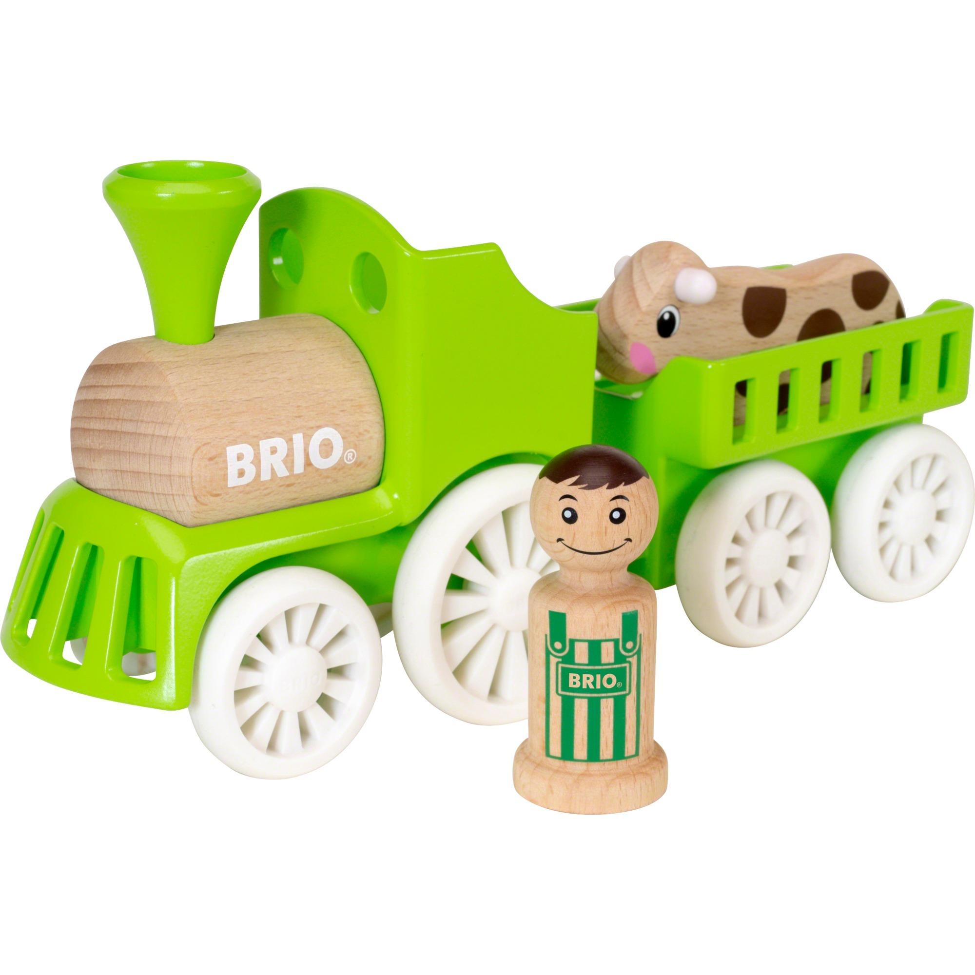30267 Tren de la granja, Automóvil de construcción