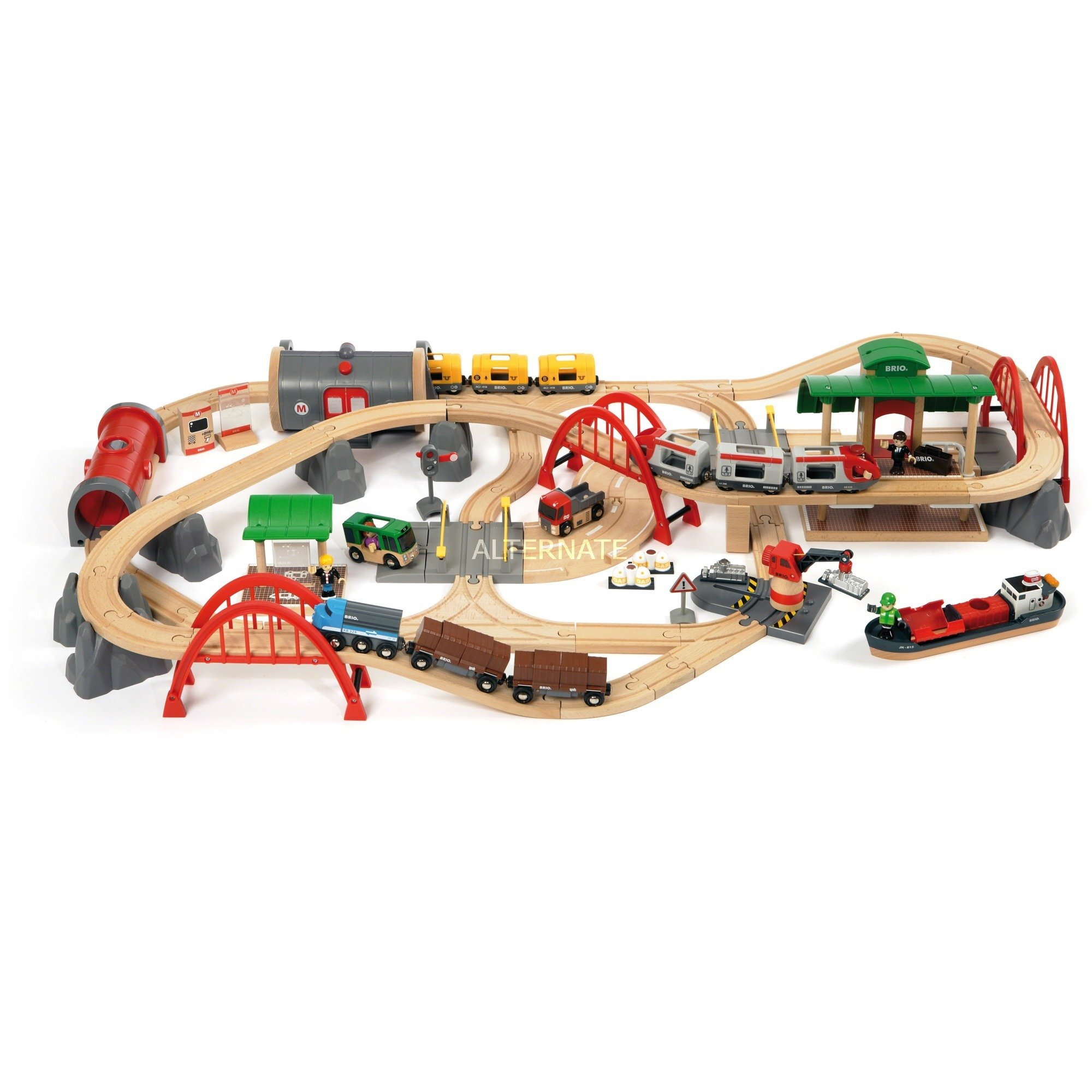33052 Set circuito de tren deluxe, Ferrocarril