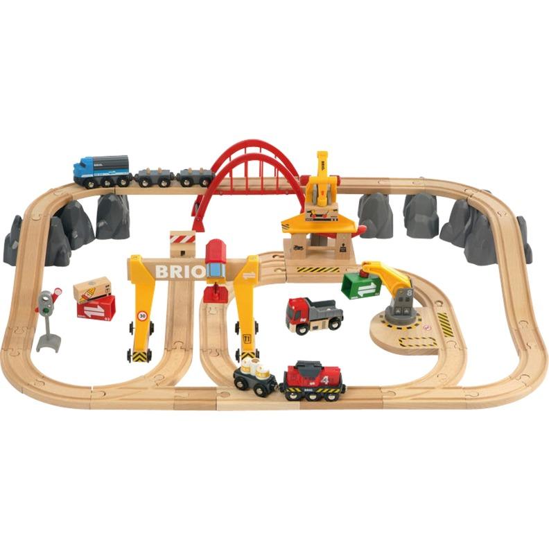 33097 Set deluxe de transporte y de tren, Ferrocarril