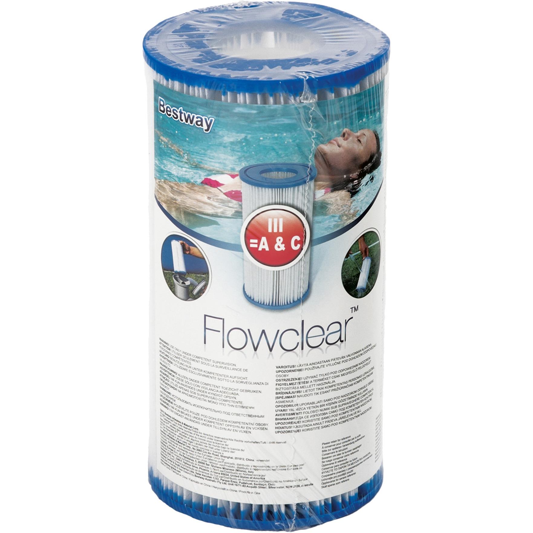 58012 accesorio para piscina Cartucho de bomba de filtración