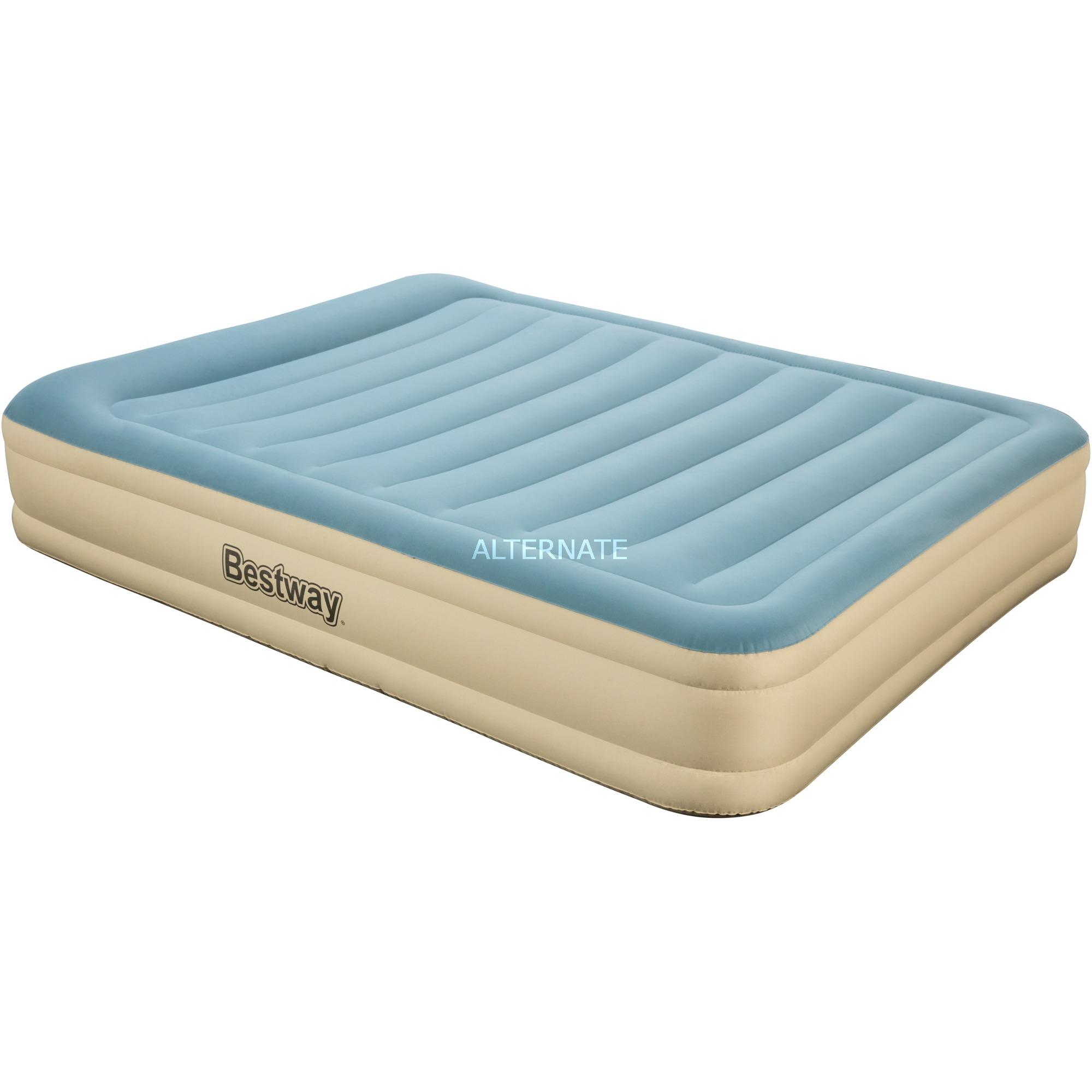 69007 colchón hinchable Colchón doble Beige, Gris Niño/niña, Cama de aire