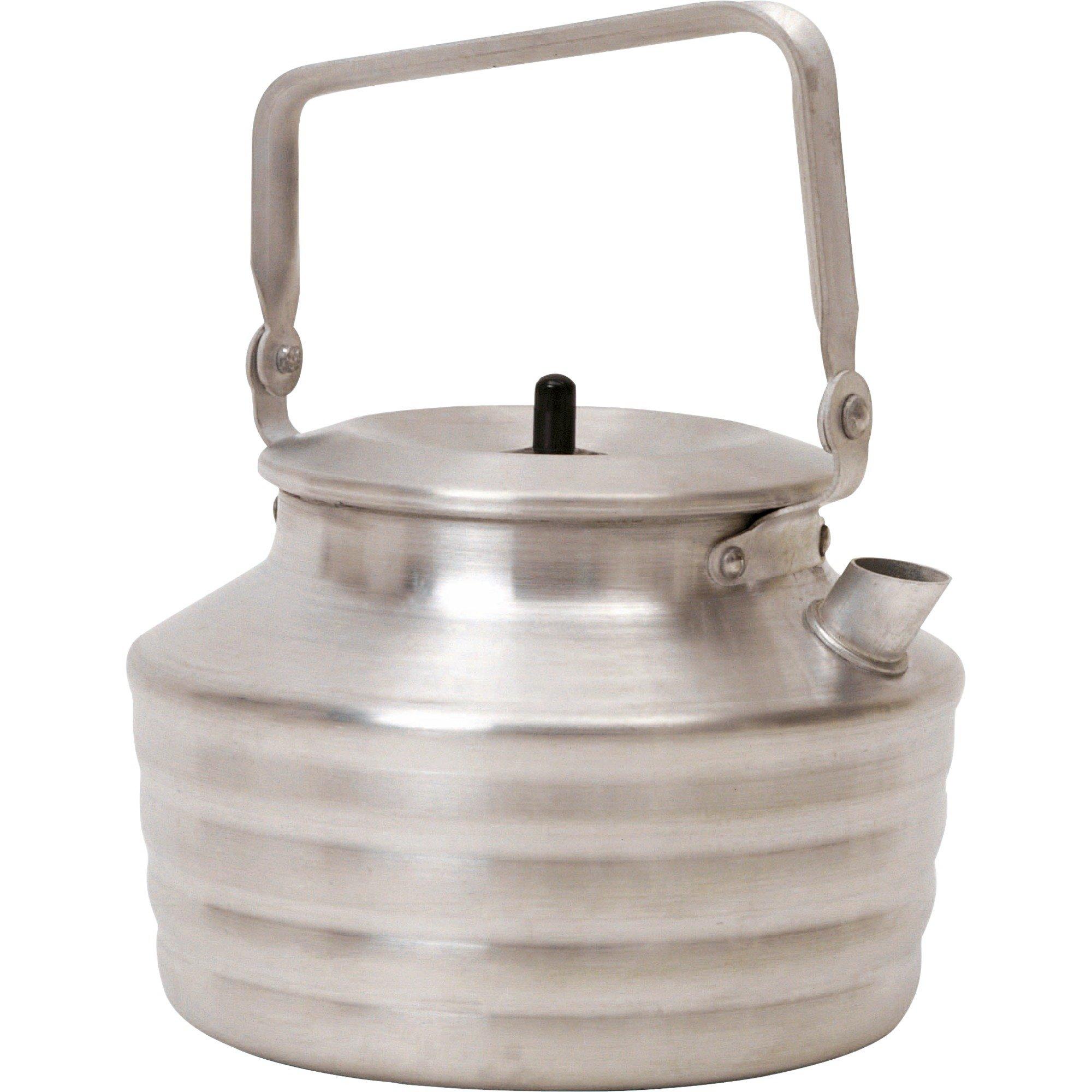 202027 utensilio de cocina para camping Tetera 1,3 L Aluminio, Olla