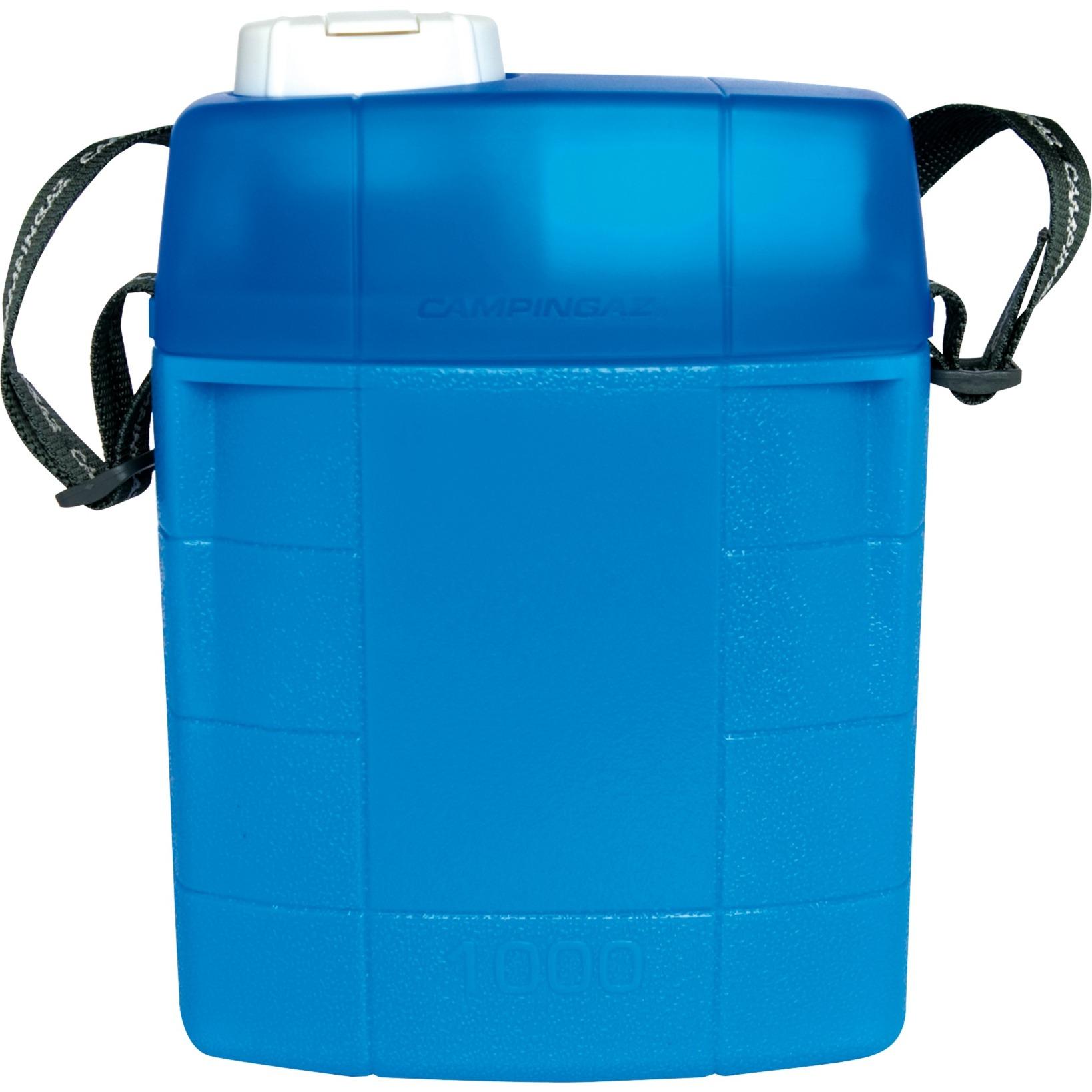 204020 termo 1 L Azul, Botella de agua