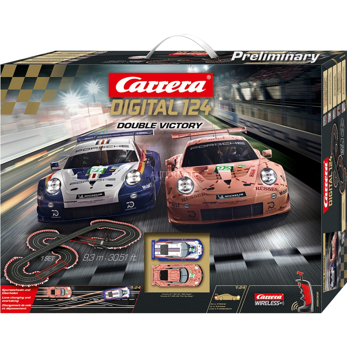 20023628, Pistas de carreras