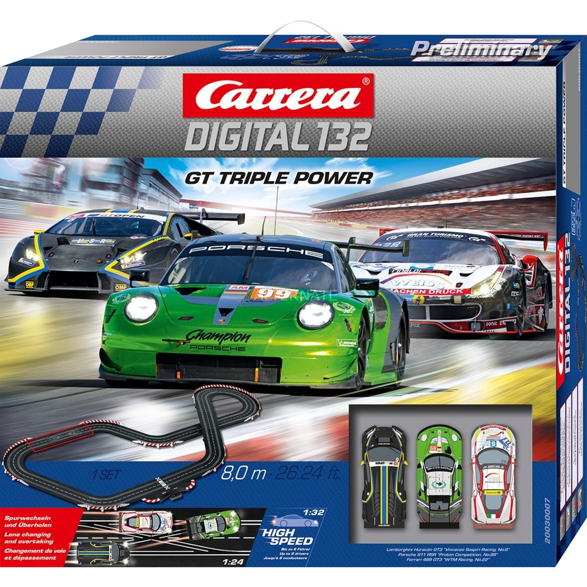 20030007, Pistas de carreras