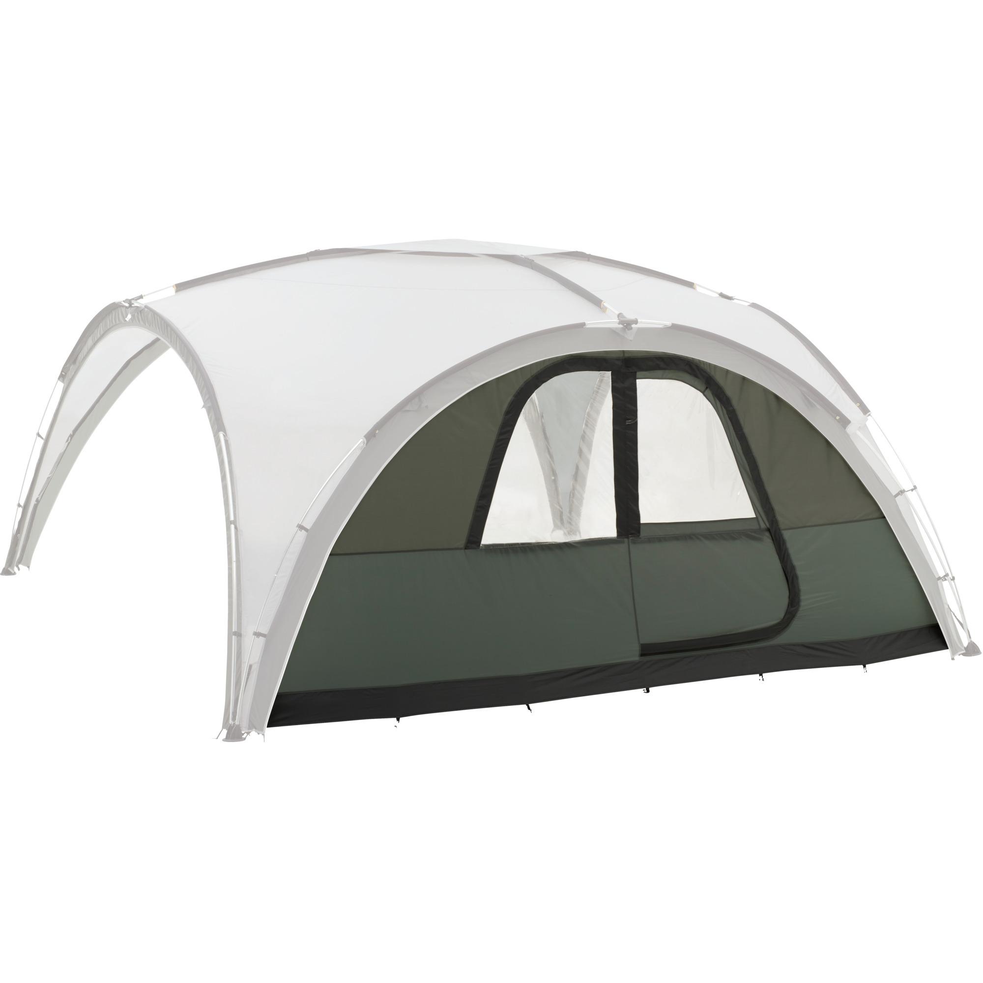 2000011831 Gris, Color blanco toldo y carpa para camping, Lateral