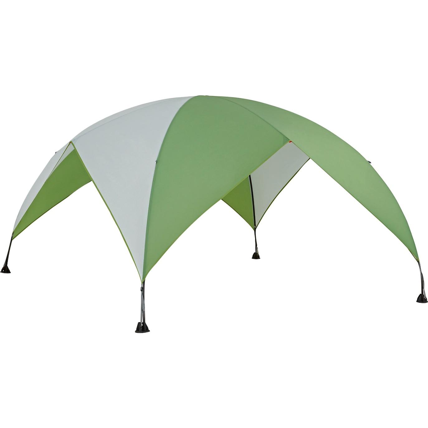 2000024842 Verde, Color blanco toldo y carpa para camping, Pabellón