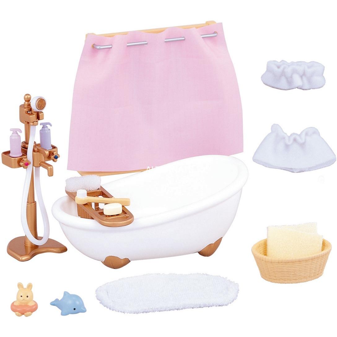 5022 accesorio para casa de muñecas Dollhouse bathroom, Juegos de construcción