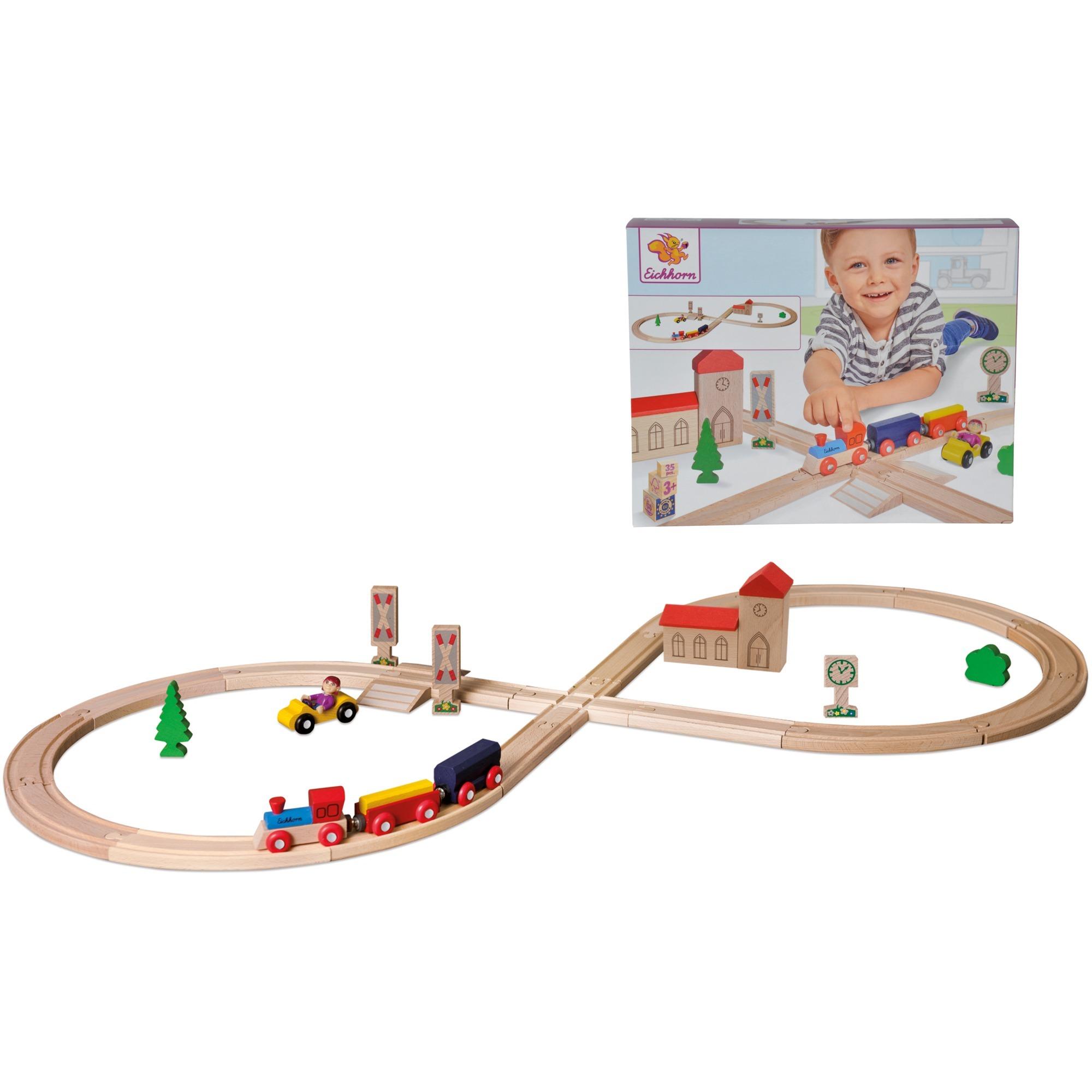 100001262 modelo de ferrocarril y tren