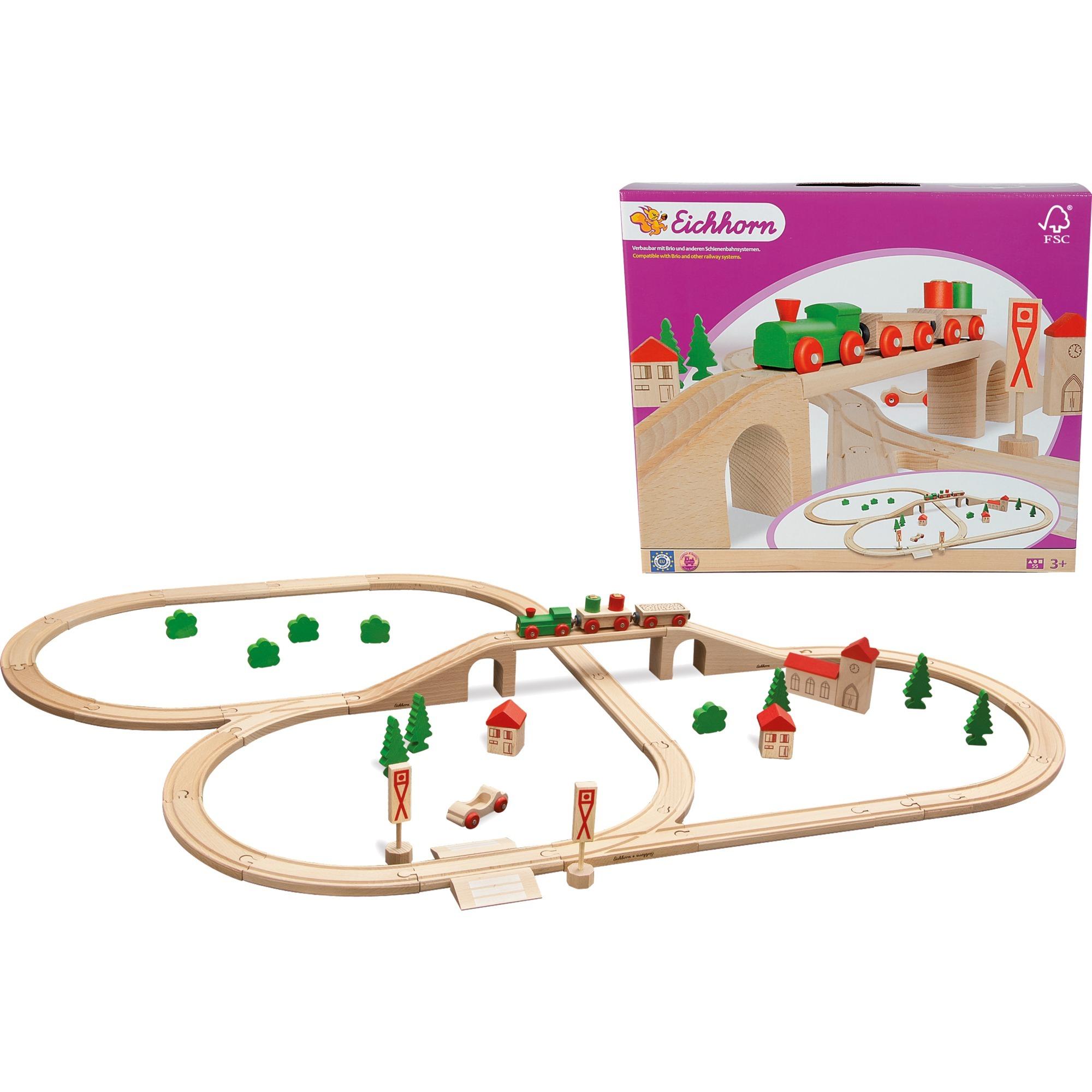 100001264 modelo de ferrocarril y tren, Juegos de construcción