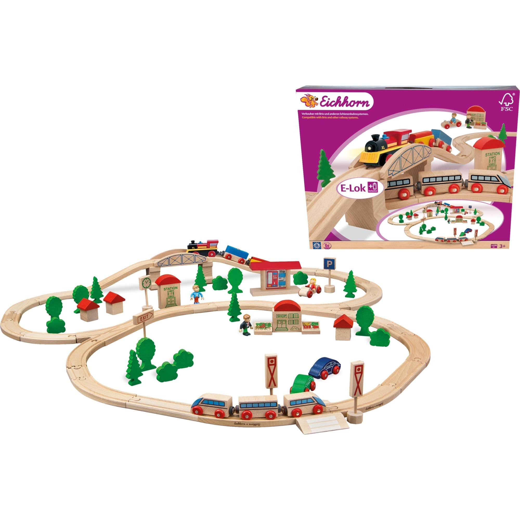 100001265 modelo de ferrocarril y tren, Juegos de construcción