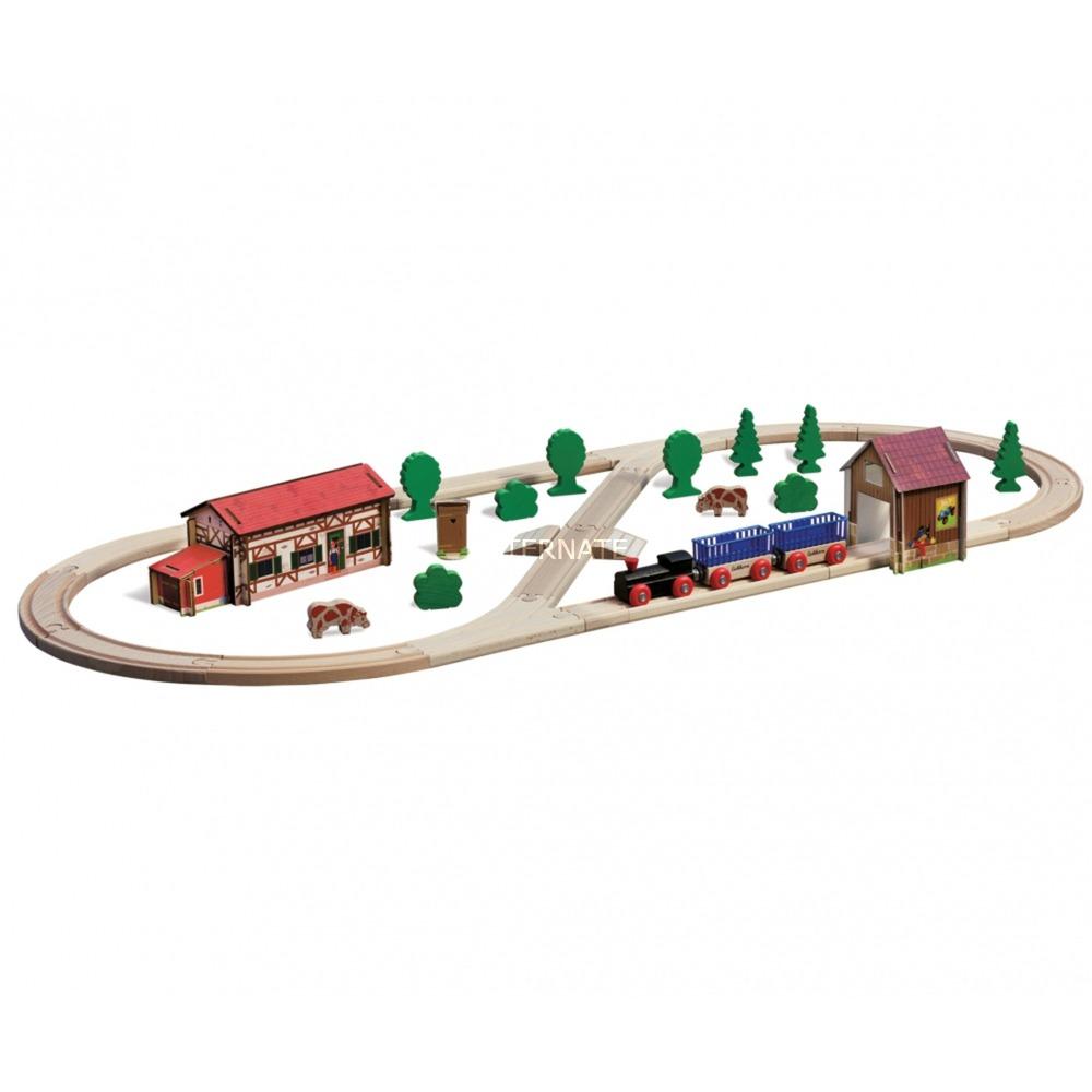 100001268 modelo de ferrocarril y tren