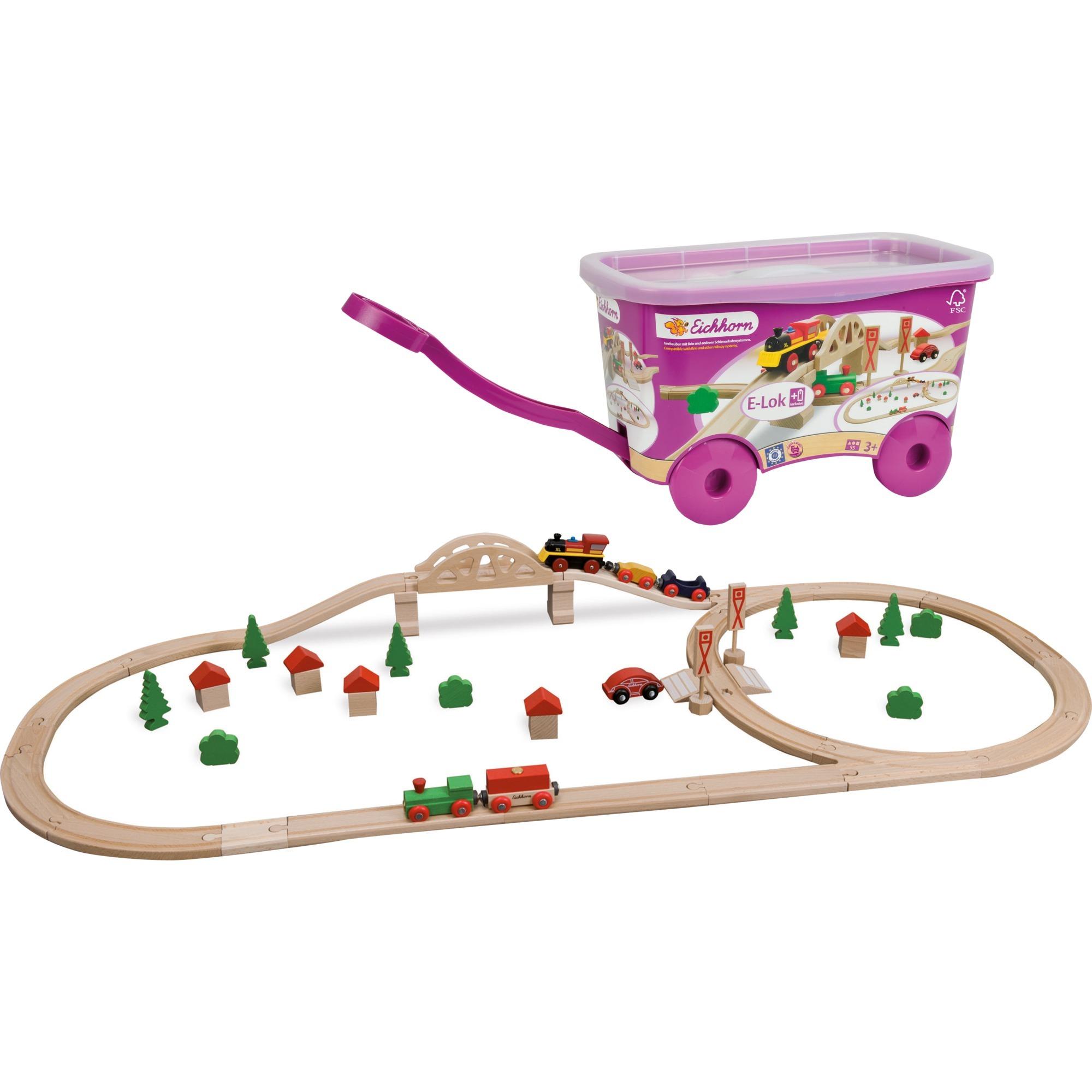 100001275 modelo de ferrocarril y tren, Juegos de construcción