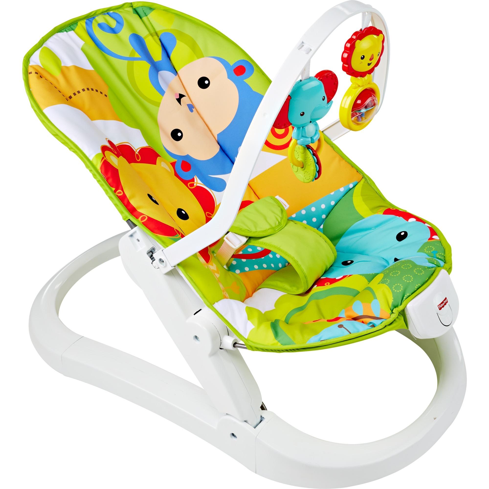 Everything Baby CMR20 Multicolor mecedora y silla para bebés, Balancín