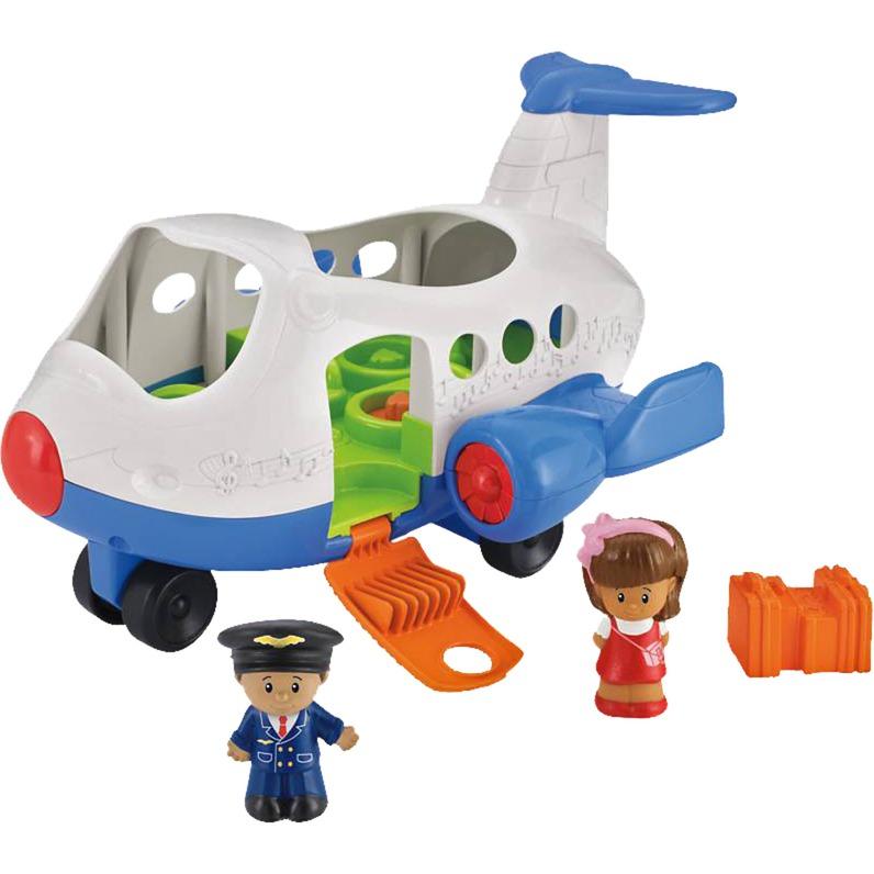 Little People Aircraft De plástico vehículo de juguete, Automóvil de construcción