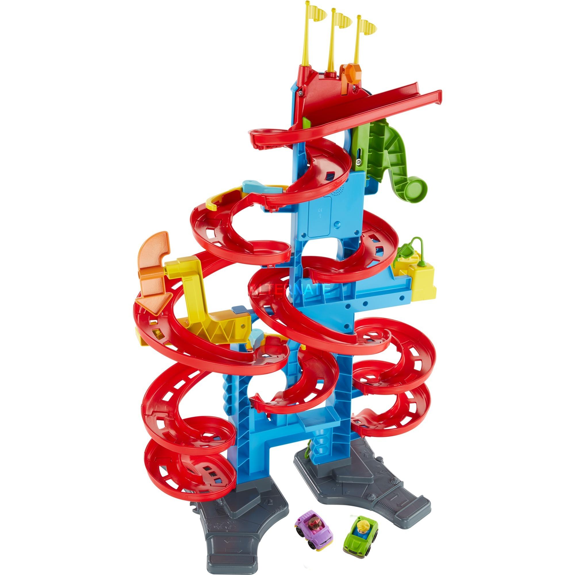 Little People FXK59 pista para vehículos de juguete De plástico, Pistas de carreras