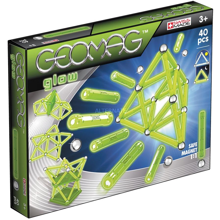 Color Glow 40 pcs juguete de imán de neodimio 40 pieza(s) Verde, Juegos de construcción