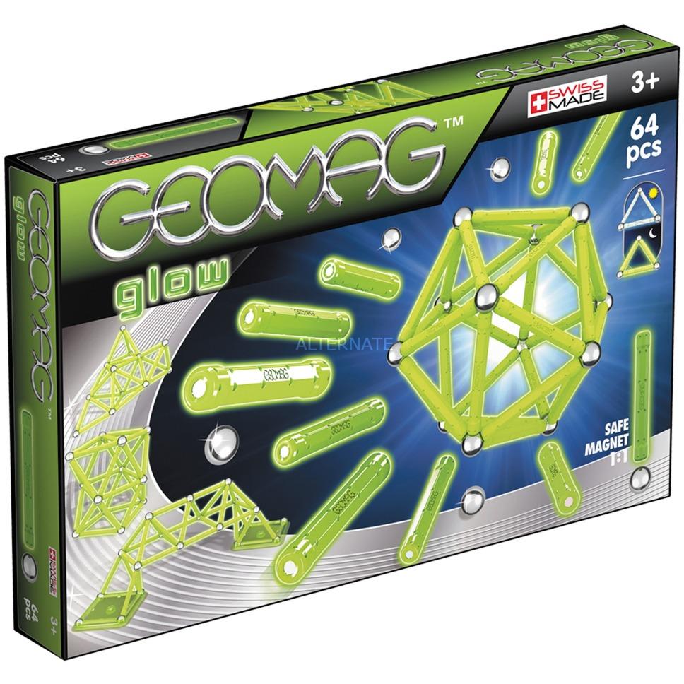 Color Glow 64 pcs juguete de imán de neodimio 64 pieza(s) Verde, Juegos de construcción