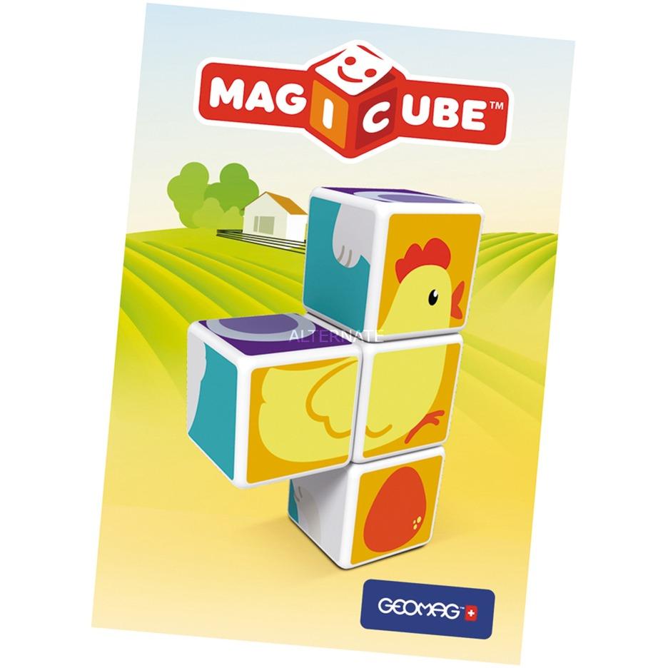 MagiCube Animal Friends - 4 pcs, Juegos de construcción