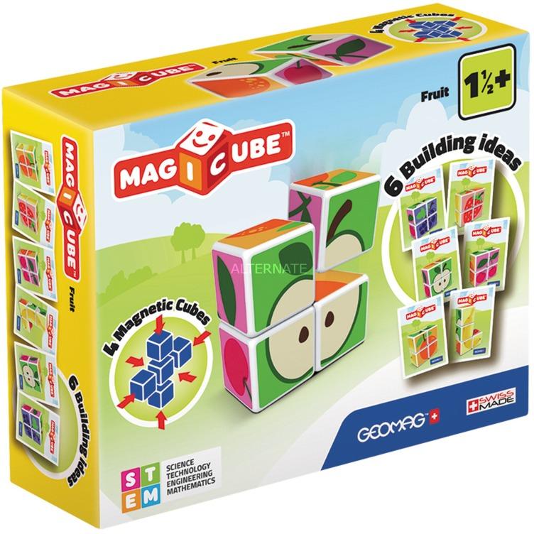 MagiCube Fruit - 4 pcs, Juegos de construcción