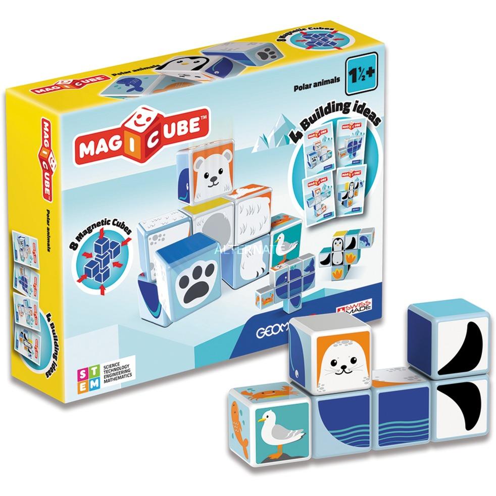MagiCube Polar Animals - 8 pcs, Juegos de construcción