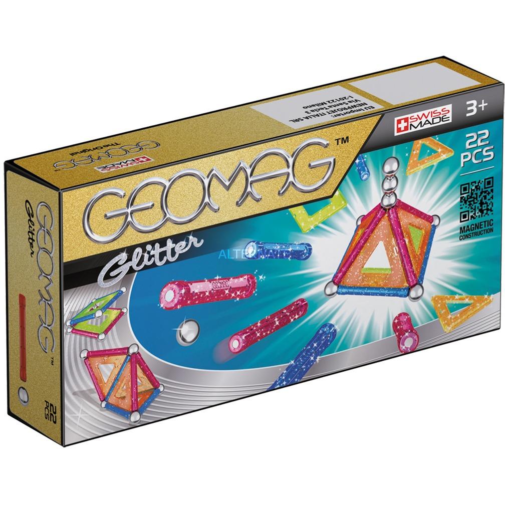 Panels Glitter 22 pcs juguete de imán de neodimio 22 pieza(s) Multicolor, Juegos de construcción