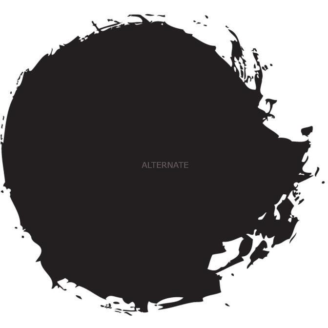 Abaddon Black pintura acrílica Negro Cazuela 12 ml, Color