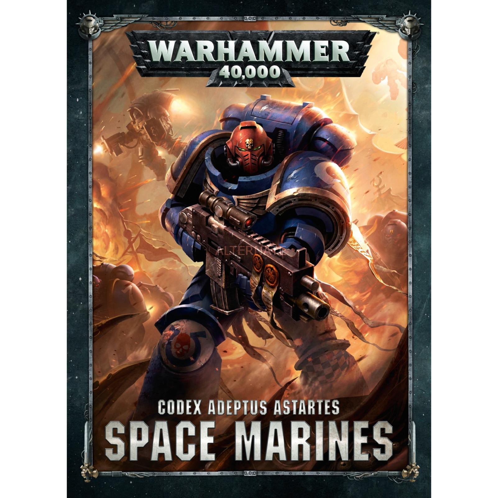 Codex: Space Marines libro Juegos Tapa dura Alemán 208 páginas