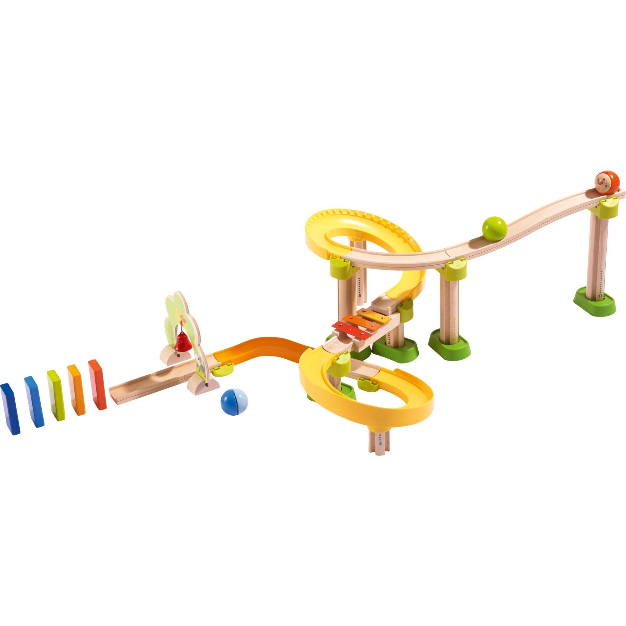 302056 pista para vehículos de juguete De plástico, Madera, Ferrocarril