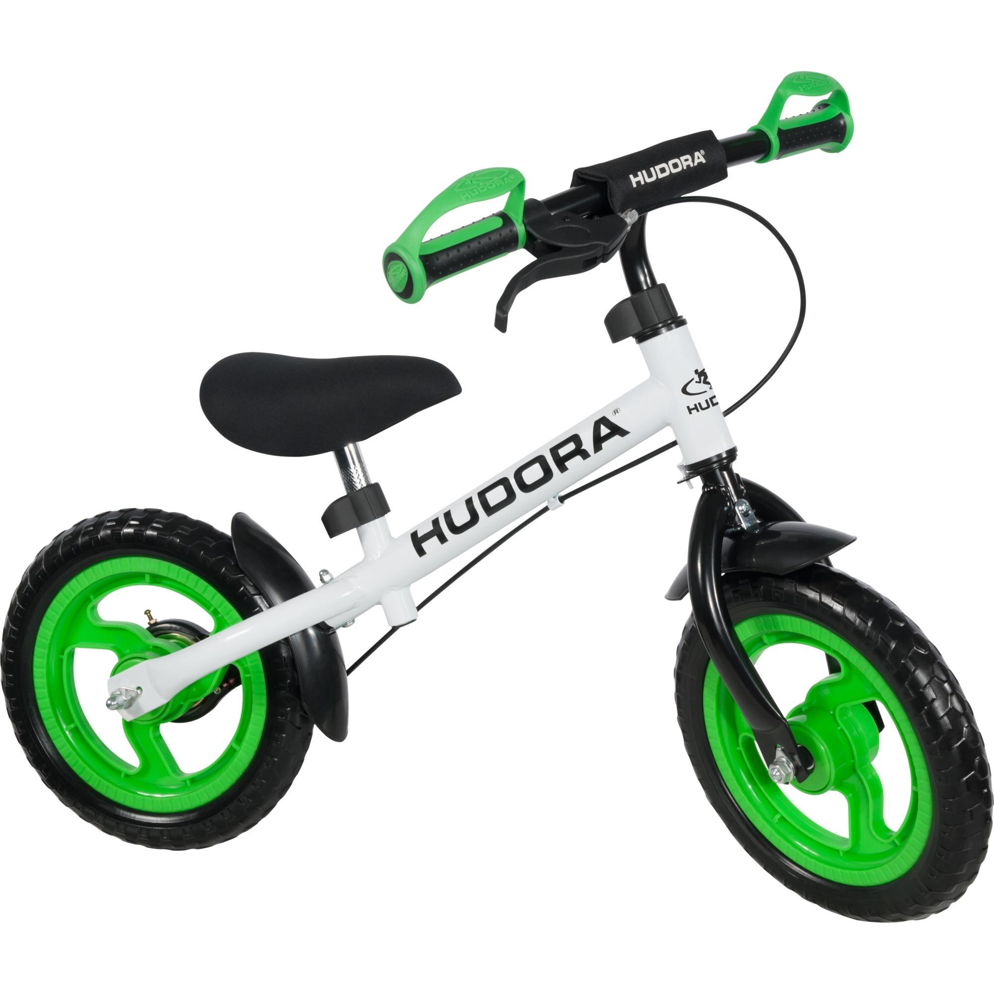 10370 Infantil unisex Verde, Color blanco bicicletta, Automóvil de juguete