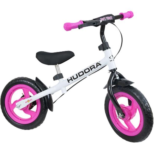 10371 Infantil unisex Rosa, Color blanco bicicletta, Automóvil de juguete