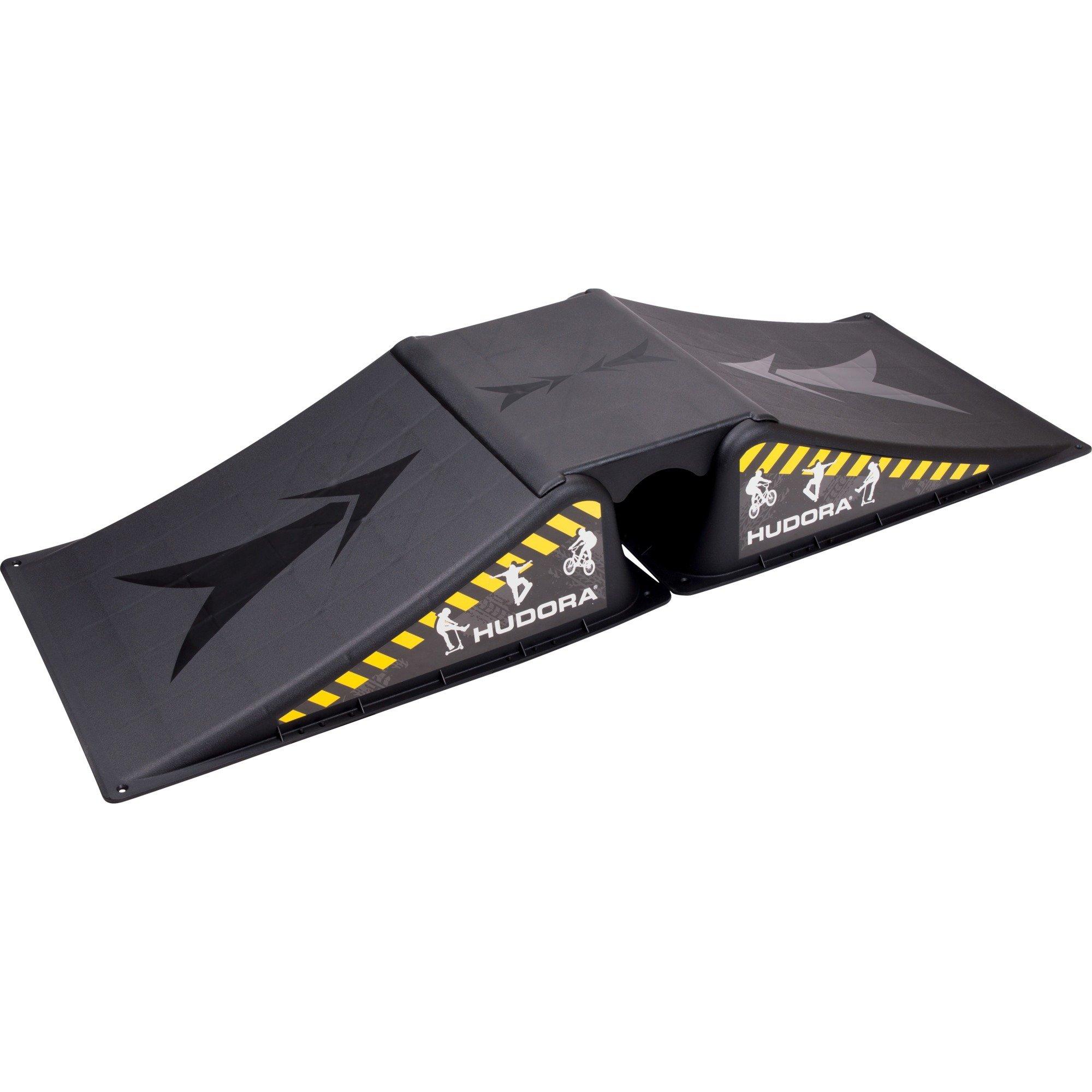 11116 2pieza(s) Negro rampa de monopatín