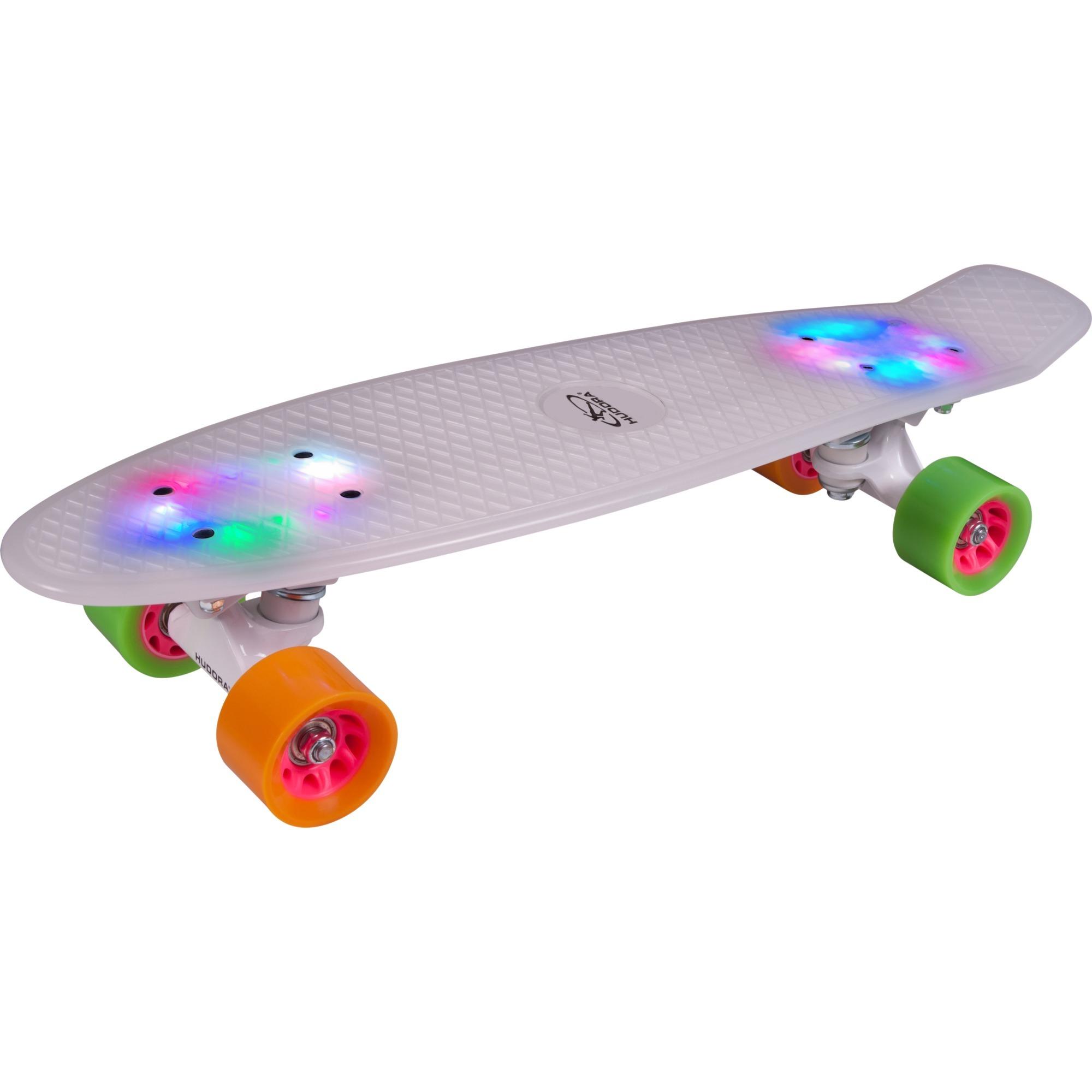 12134 Monopatín (clásico) Verde, Naranja, Color blanco monopatín, Skateboard