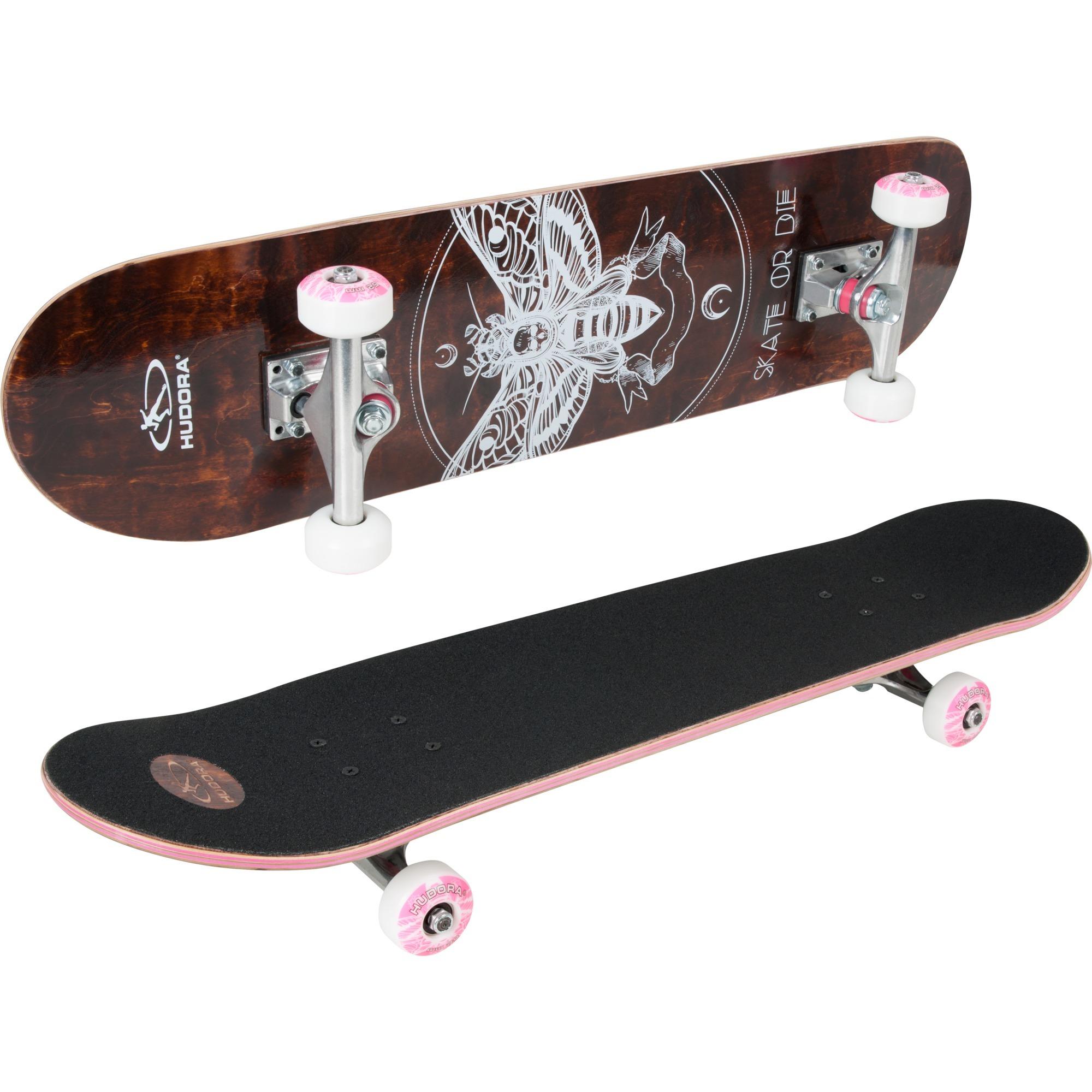 12760 monopatín Monopatín (clásico) Negro, Marrón Madera, Skateboard