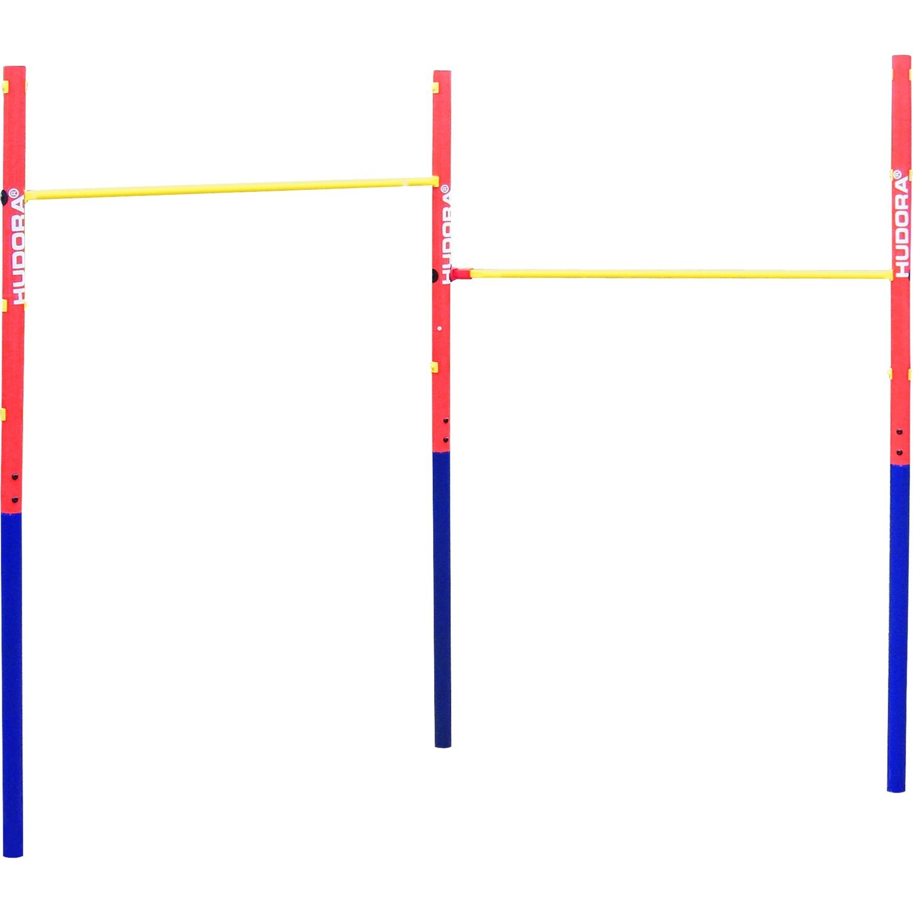 64002 100kg Azul, Rojo, Amarillo barra dominada, Aparato para fitness