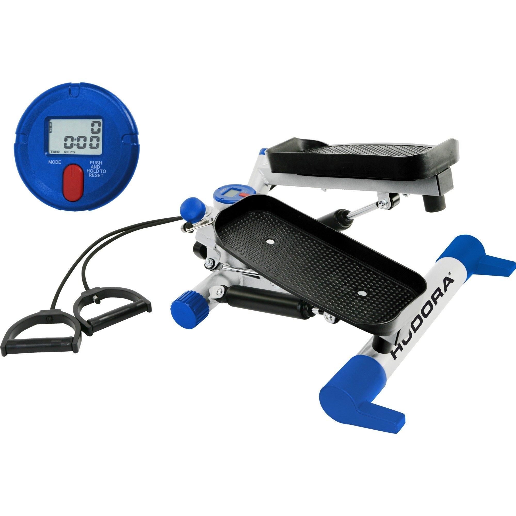 65236 Negro, Azul, Blanco máquina de step, Aparato para fitness
