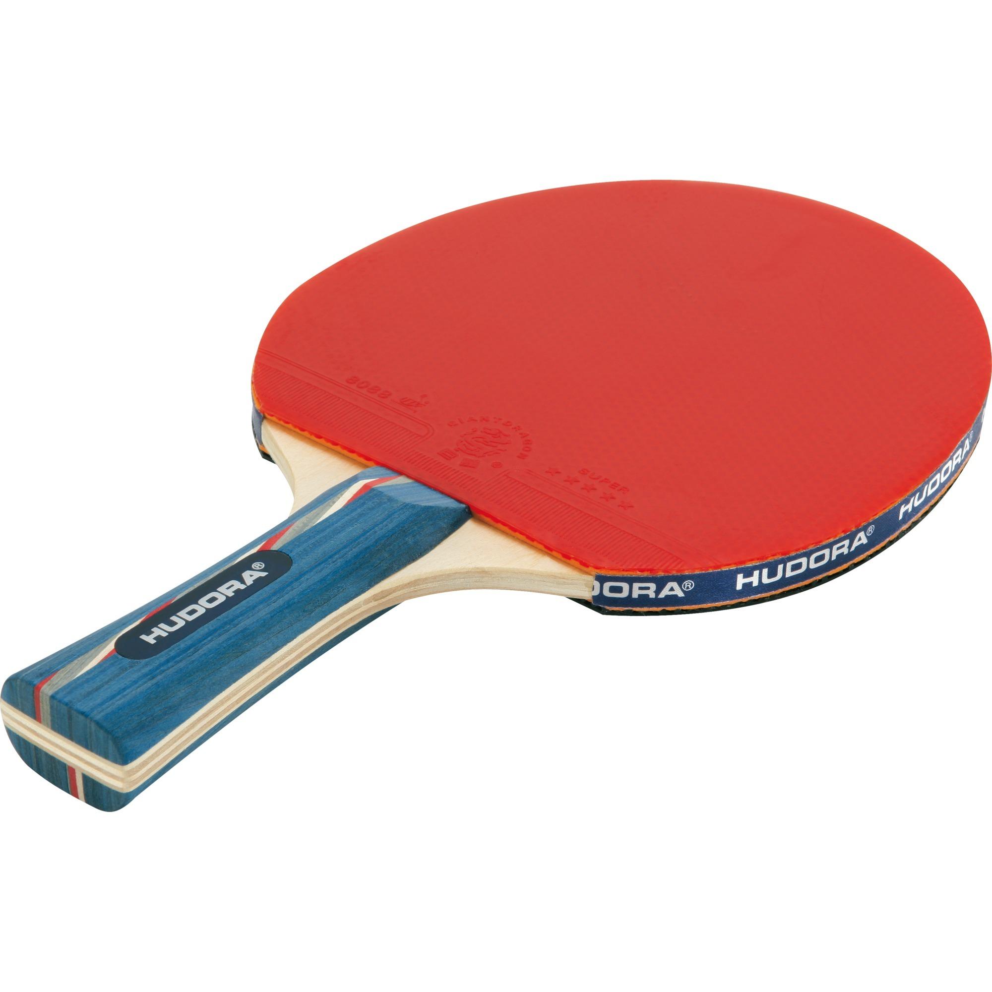 76266 raqueta para tenis de mesa Azul, Rojo Espuma, Madera 1 pieza(s), Aparato para fitness