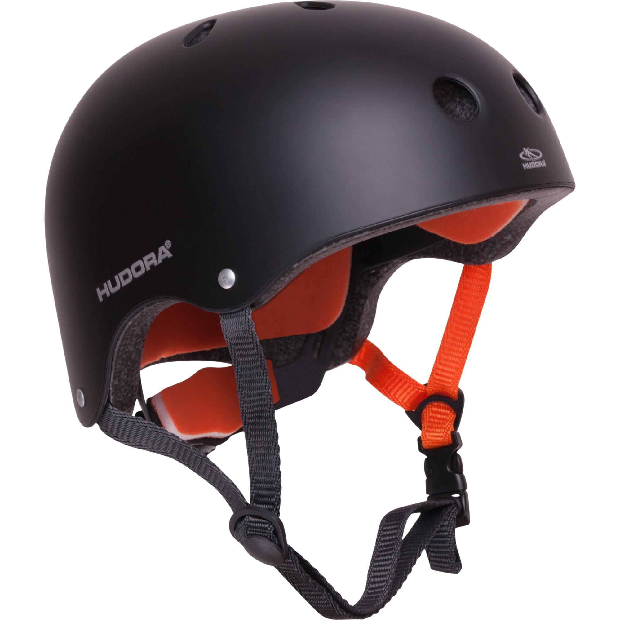 84104 casco de protección para deporte Skateboarding Negro, Naranja Casco abierto