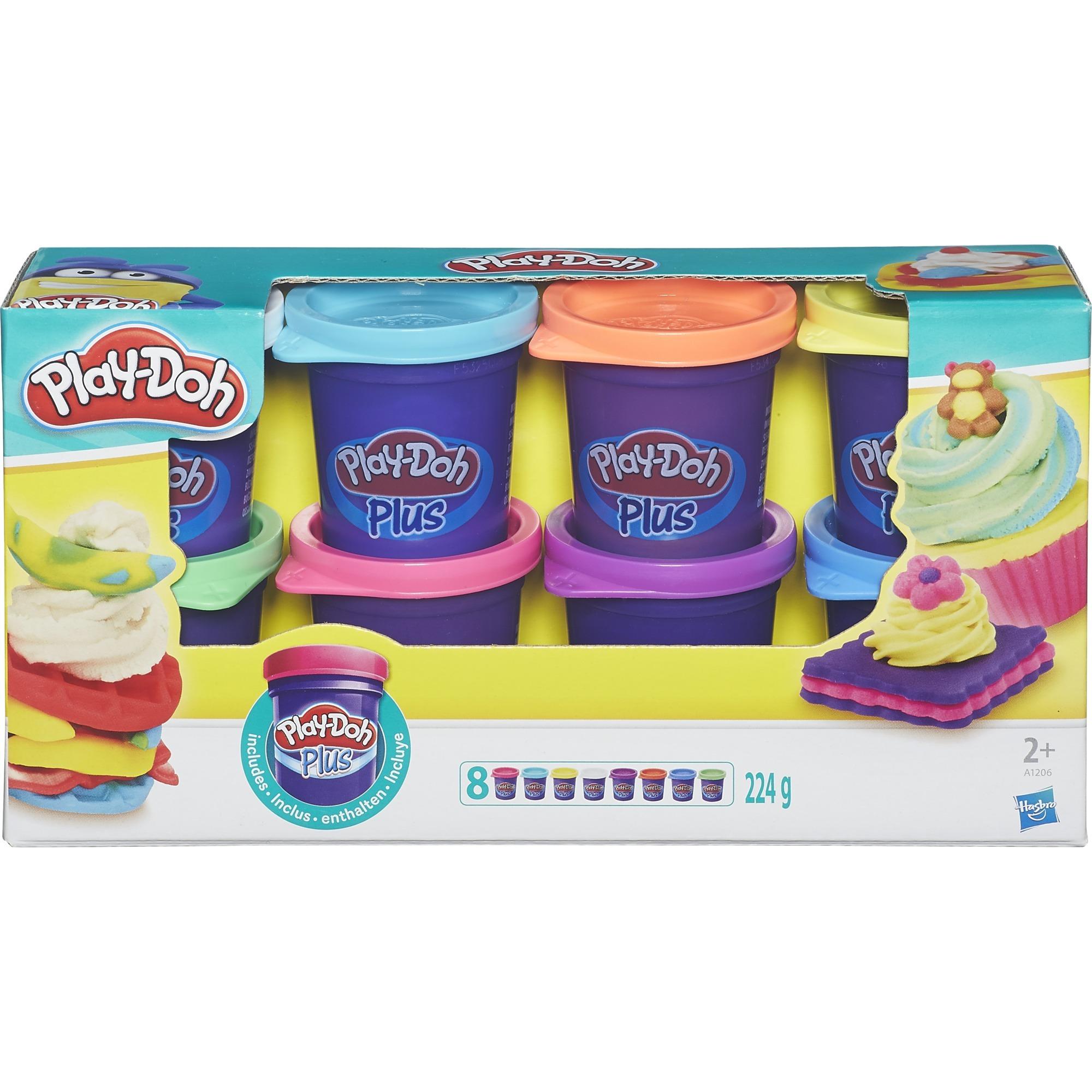 A1206EU4 Pasta para modelar 226g Azul, Verde, Púrpura, Rojo, Turquesa, Violeta, Color blanco, Amarillo 8pieza(s) compuesto para cerámica y modelaje, M