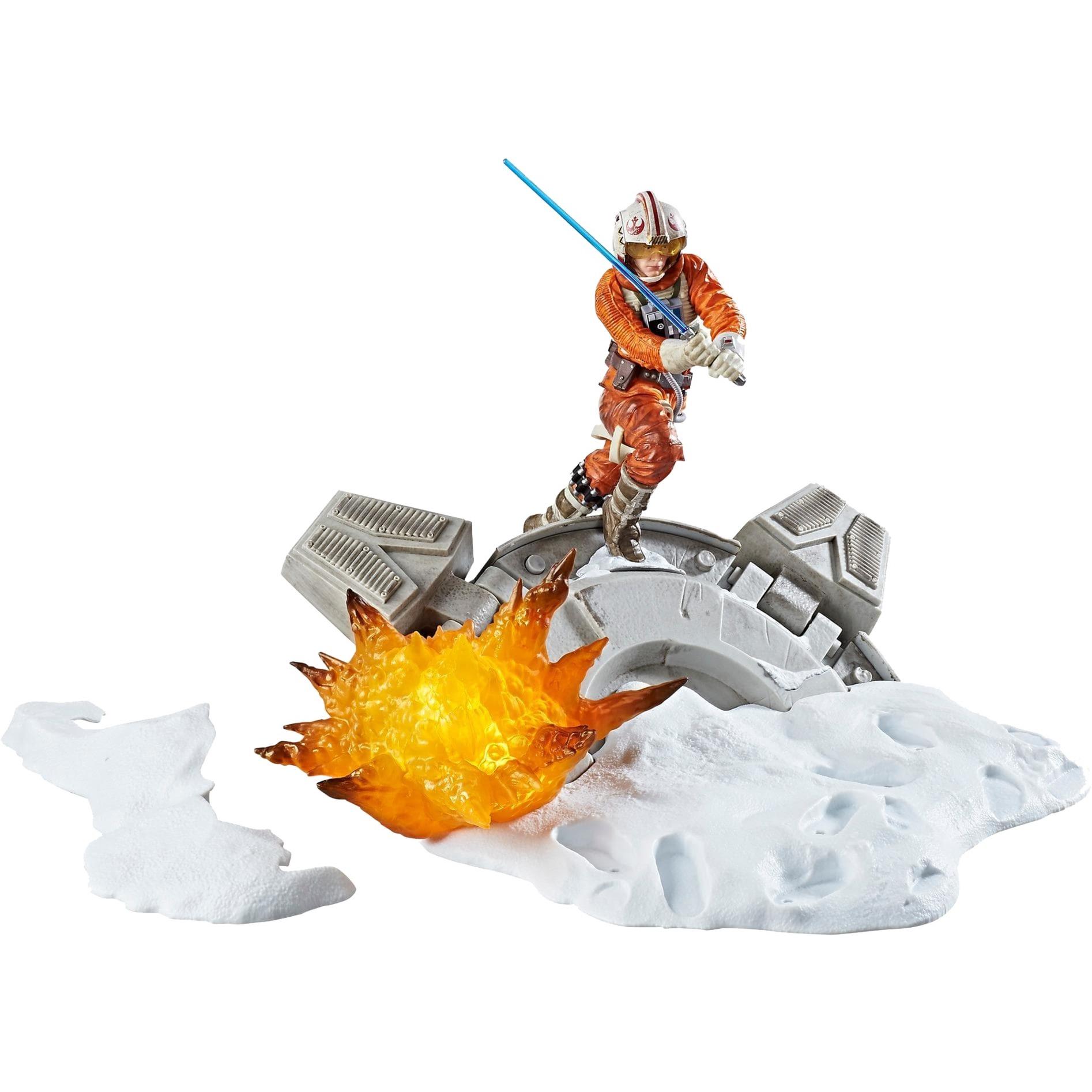 Figura Luke Skywalker con base Star Wars The Black Series: Centrepiece