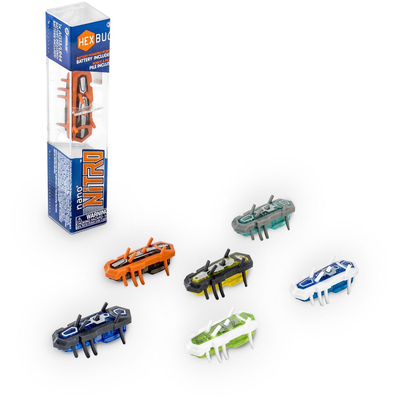 Nano Nitro, Juegos de construcción