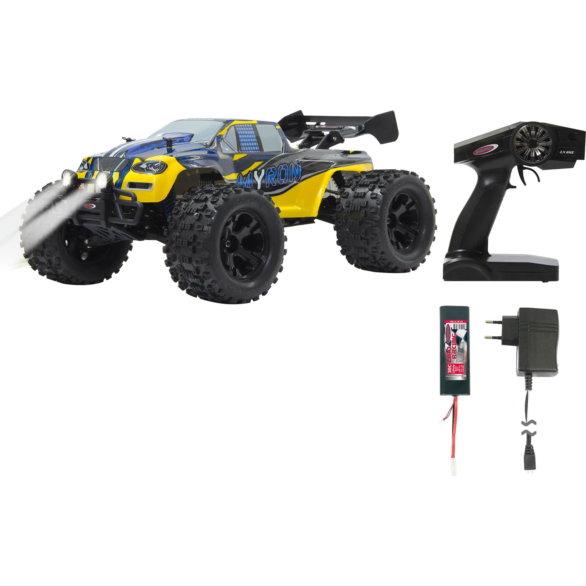 053365 vehículo de tierra por radio control (RC) Monster truck Motor eléctrico 1:10, Radiocontrol