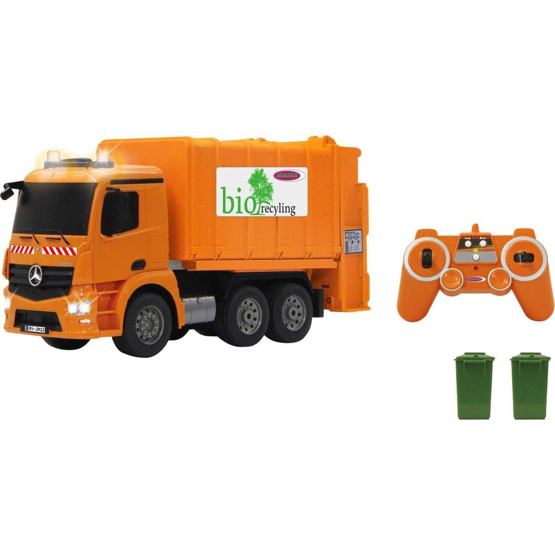405079 vehículo de tierra por radio control (RC) Camión de la basura Motor eléctrico 1:20, Radiocontrol