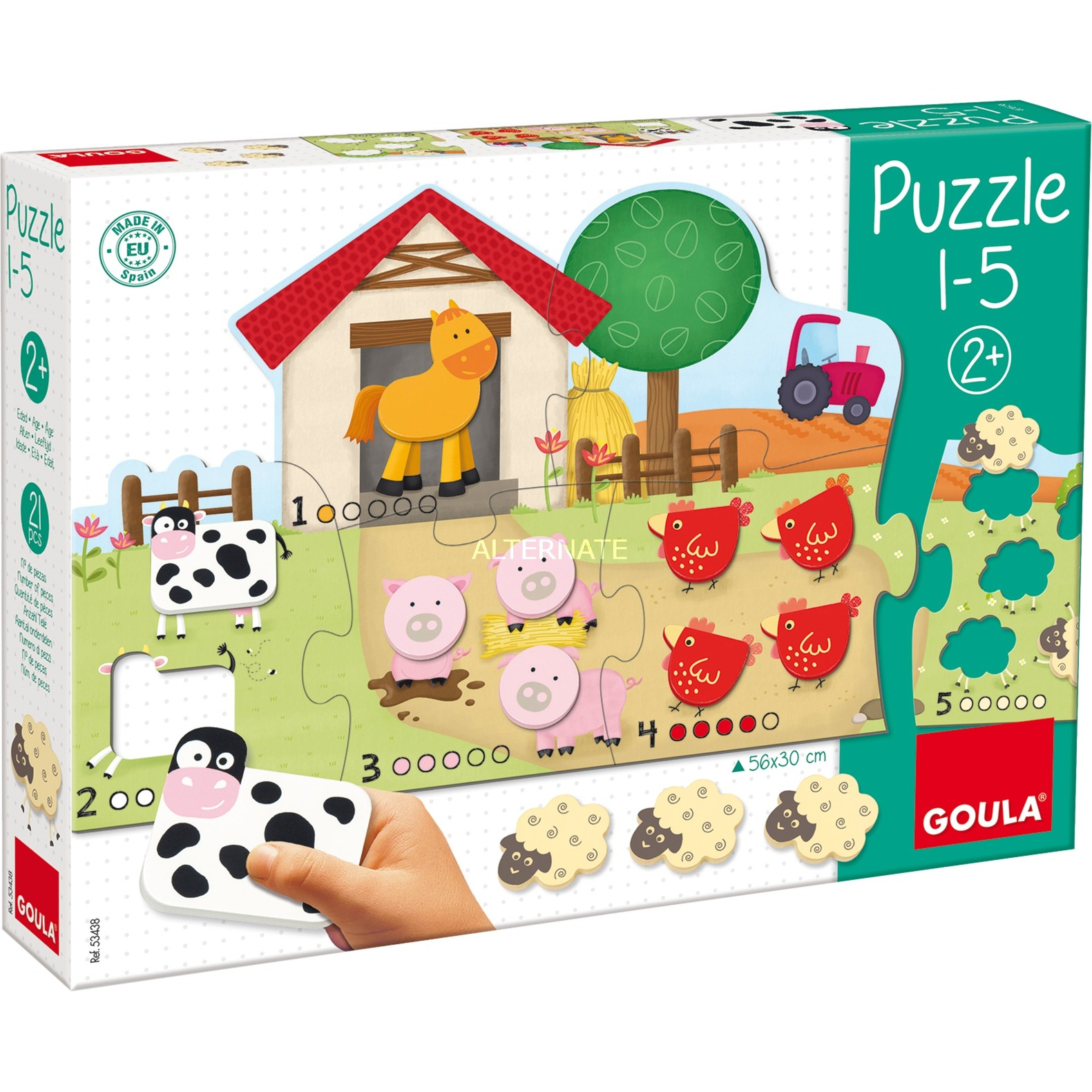 1-5 Puzzle Rompecabezas