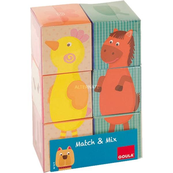 6 Cubes, Mix & Match XL, Puzzle