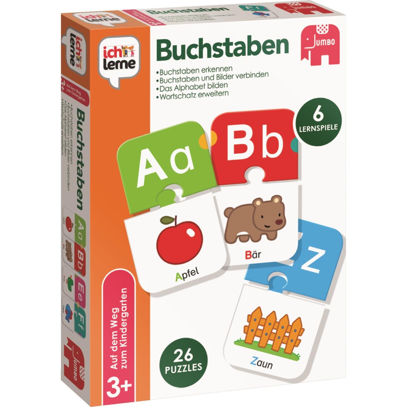 Buchstaben Juguetes para el aprendizaje, Juego educativo